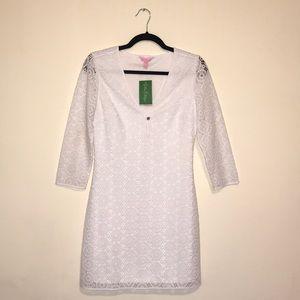 NWT Lilly Pulitzer Small White Lamora Dress